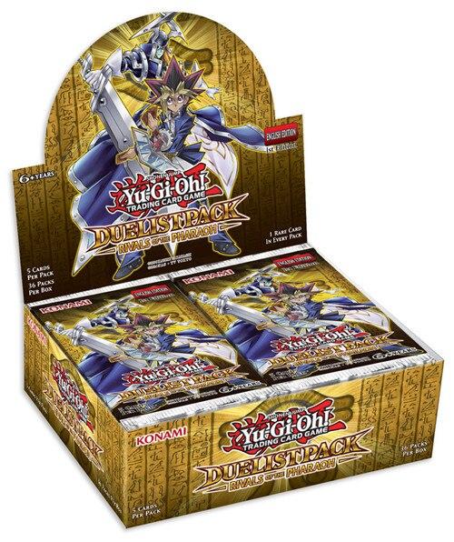 YuGiOh Pack dueliste rivaux du pharaon Booster Box-1st édition scellée