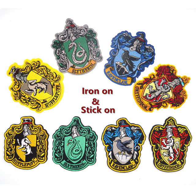 5dbd82cbcef Harry Potter House of Gryffindor Hogwarts Crest Patch Embroidered Patch  Hook  Loop PATCH Iron on patch available
