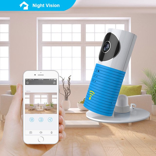 Mini Wireless wifi baby monitor with camera Infant Baby clever dog video Security Two-way TOPS Audio Night Vision