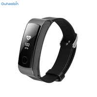 Ouhaobin Fashion Leather Accessory Smart Wrist Strap Band Bracelet Watchband For Huawei Honor Band 3 Wristband