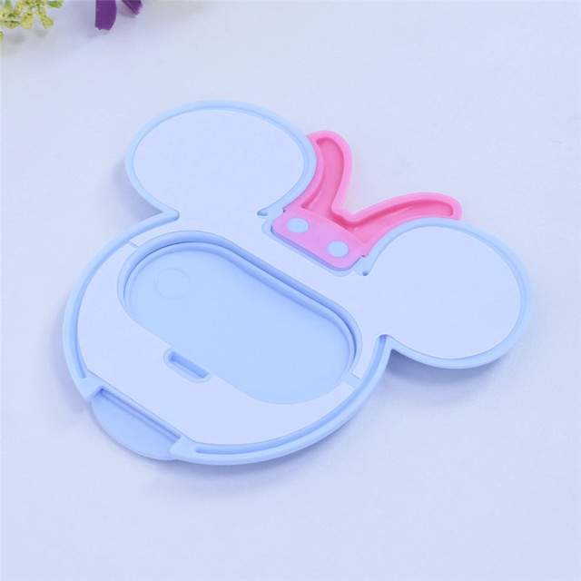 Baby Wipes Lid Baby Wet Wipes Cover Portable Child Wet Tissues Lid Cartoon Mobile Wipes Wet Paper lid Useful Accessories 4