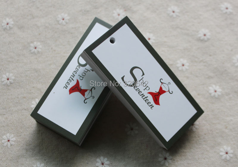 manufacture clothing swing tag labels for clothes With custom logo tags for clothing