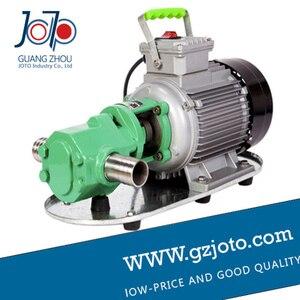 Image 5 - WCB 100 gusseisen tragbare elektrische getriebe thermische schwere öl pumpe