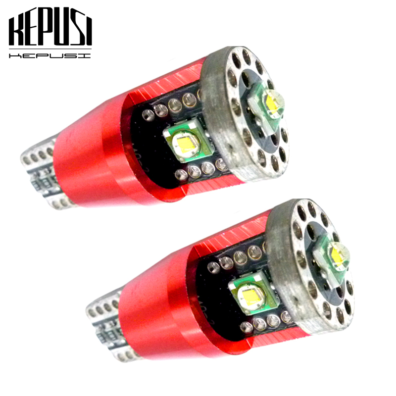 2x T10 LED Canbus W5W 921 Car Led Light of Cree Chip 15W 500lm Clearance Number Backup Reverse Interior Lamp Bulb 12V 30V White in Signal Lamp from Automobiles Motorcycles