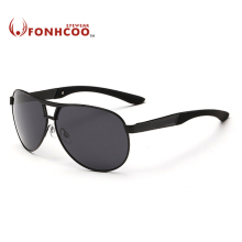 2017 FONHCOO Brand Designer Oval Sunglasses men Polarized fashion Driver glasses UV400 Hot rays protect gafas oculos de sol