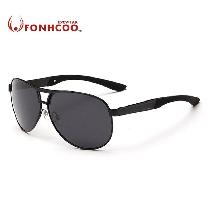 A FONHCOO márkájú designer ovális napszemüveg férfiak - Ruházati kiegészítők