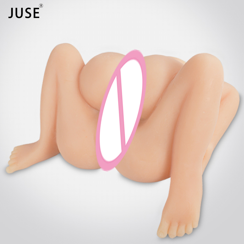 Double-deck Silicone Sex Doll 3D Big Ass Vagina Anal 4 Hole Love Doll Sex Products for Men Male Masturbation Realistic Pussy