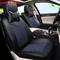 Carпортной Custom Fit чехлы для автомобильных сидений Аксессуары для Kia Niro 2017 автомобильные чехлы для сидений защита ледяной шелк и кожа автомоби