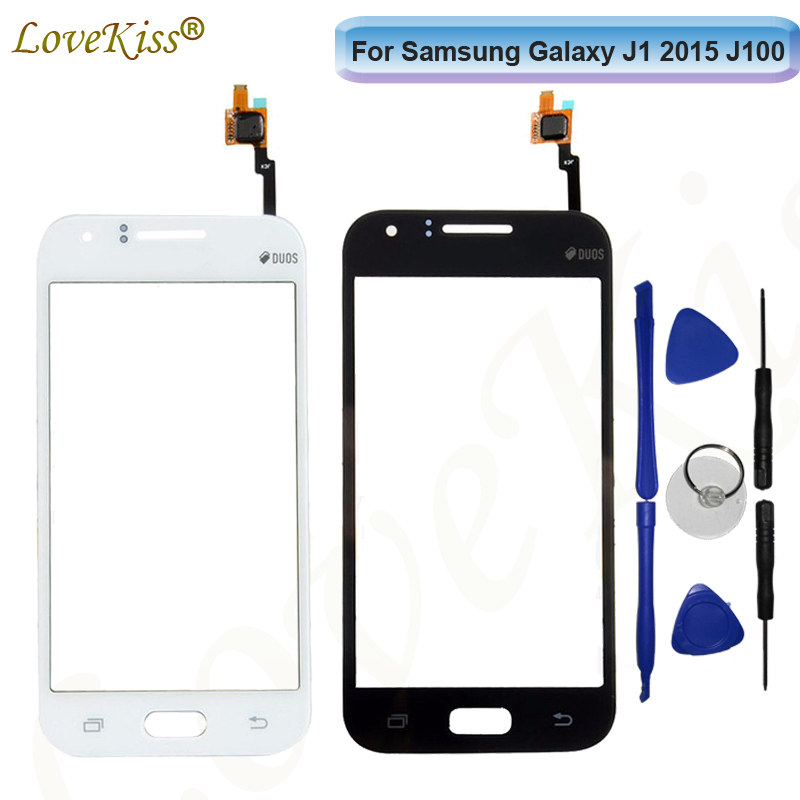 Touchscreen For Samsung Galaxy J1 2015 <font><b>J100</b></font> J100F J100FN J100H <font><b>Touch</b></font> <font><b>Screen</b></font> Sensor Front Panel Digitizer LCD Display Outer Glass image