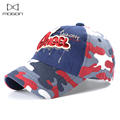 2016 New Sale Autumn And Winter Kids Snapback Hats Caps Letter Embroidery Children Baseball Cap Cotton Star Flat For 3~8 Years