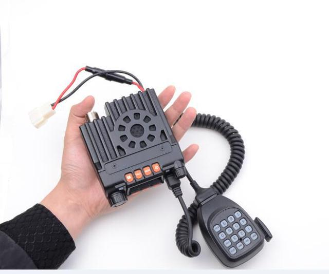 Hot Sales JT-6188  Mini Dual Band Car Radio VHF136-174&UHF400-480MHz  VHF25W UHF20W