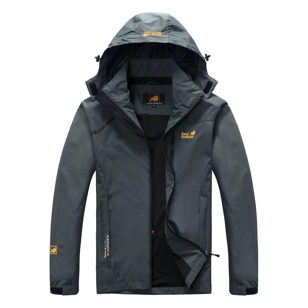 Regatta Mens Telmar Waterproof Outdoor Hiking Walking Classic Jacket Coat Bicycle Windbreaker Waterproof Sports Clothing
