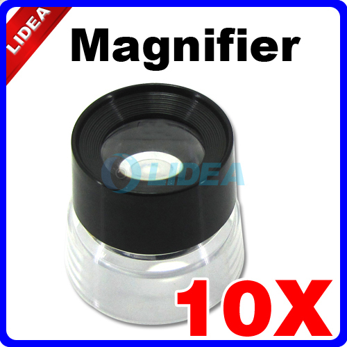 10X 30MM Monocular Magnifying Glass Loupe Lens Jeweler Tool Eye Magnifier For Jewelry Watch Stamp Coin CN F 26