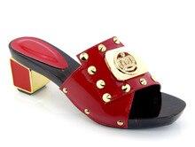 2016 hochzeit Brautschuhe Abendgesellschaft Kristall, High Heels Frauen Schuhe Sexy frauen Pumpt Brautschuhe KL1613 rot farbe.