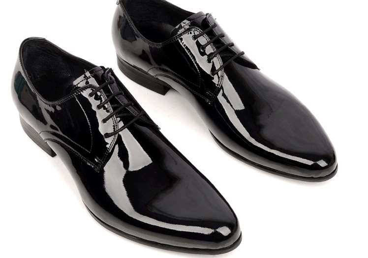 439b3bdd271e5 Latest high quality top brand men pointed shoes/shiny dress shoes ...
