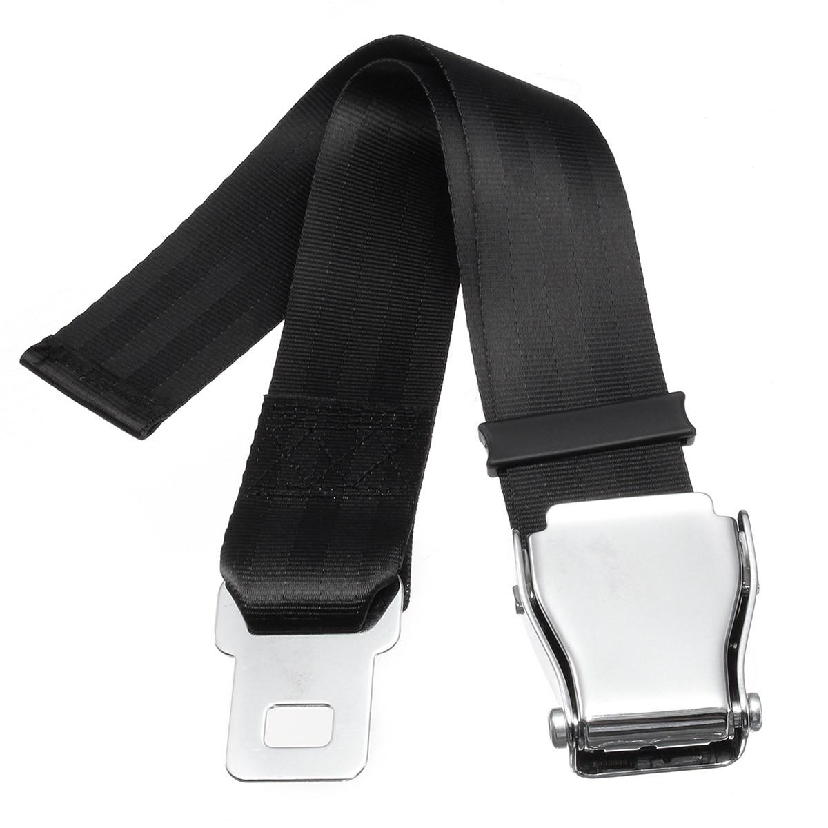 Universal Adjustable Aircraft Airplane Safe Seat Belt Extension Extender Buckle Safebelt Extender