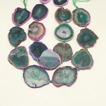 0d9bab511237 Nueva llegada natural Rosa verde dragón venas achate piedras perlas ...