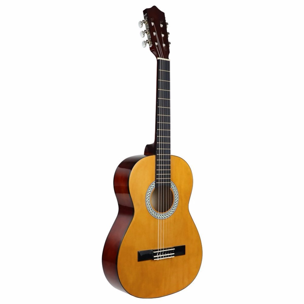 defc881ede Strong Wind 3/4 Size 36 Inch Classical Acoustic Guitar 6 Nylon Strings  Basswood Guitarra For Beginner Kids Unisex Semi-closed | Health Fitness  Product Store