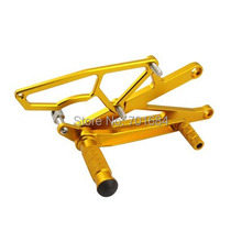 New Motorcycle Rear Adjustable Footrest Foot Rests Pegs For Kawasaki ZX-10R 2004 2005 [TT03]