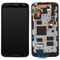 For Motorola Moto X2 X+1 XT1092 XT1095 XT1097 LCD Display Touch Screen Digitizer+Bezel Frame Assembly Replacement