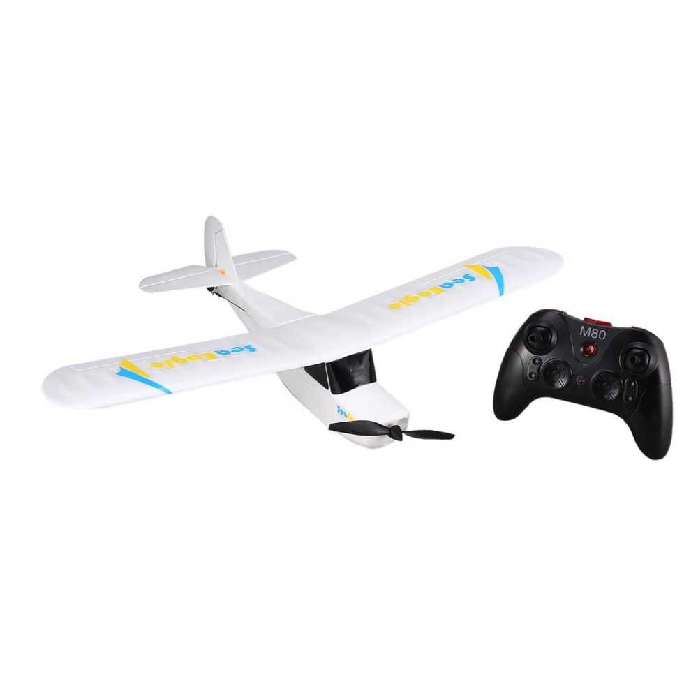 Remote Control RC Airplane 2.4Ghz 3CH Mini 3/6-Axis Aircraft Fixed Wing Drone RC Plane with Wingspan 510mm RTF Mirarobot Seaeagl macfree b 17 b17 rc airplane brushed 2 4ghz 6ch built in 6 axis gyro fixed wing 740mm wingspan airplane rtf