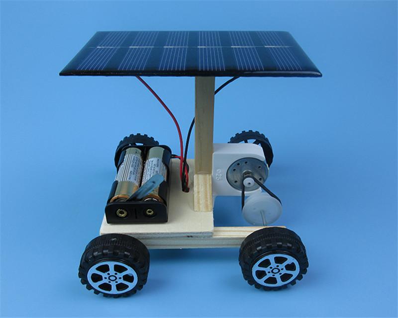 HTB1Lvu4izoIL1JjSZFyq6zFBpXaf - DIY Hand Assembling solar electrical energy generation  combination driven vehicle car Physics technology gizmo
