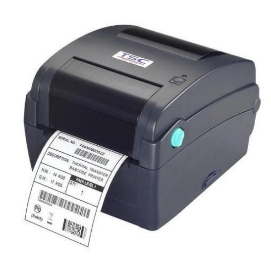 Original Brand New TSC TTP-345 Térmica Directa/Transferência Térmica Impressora de código de Barras 300 dpi para soluções de POS