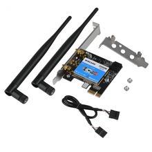 Network-Card Dual-Band PCIE Desktop Bluetooth 433mbps VBESTLIFE