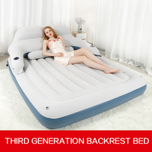 Inflatable mattress air cushion bed, double person thickening steam cleaning simple portable outdoor lunch break sex coitus bed