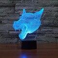 7 Mudando A Cor Night Light Decorativa Led Candeeiro de Mesa Decoração de Casa Interruptor de Toque USB Luz Da Novidade Venda Quente