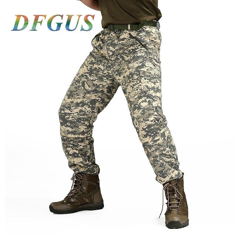 Tactique hommes pantalons Combat pantalon SWAT armée militaire pantalon hommes Cargo pantalon pour hommes Style militaire pantalons décontractés