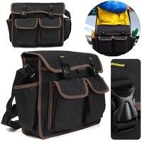 Thicken Oxford Multi Funtional Tool Bag Hardware Tool Kit Shoulder Strap Tool Bags Backpack Repairing Tool