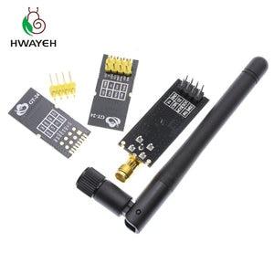 Image 2 - 1 세트 특별 프로모션 2.4G 무선 모듈 1100 미터 장거리 NRF24L01 + PA + LNA 무선 모듈 (안테나 포함)