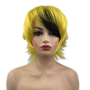 Image 4 - StrongBeauty Halloween Wig Blue Assassination Classroom Akabane Karma Cosplay Wigs Red Synthetic Hair