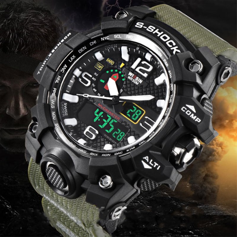 Top Brand Luxury shock watch military LED Digital sport watches for men Male Clock mens wristwatches Quartz Relogio Masculino new mens watches top brand naviforce luxury men quartz watch casual sport military watches male leather clock relogio masculino