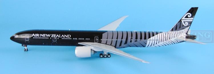 Eagle 200011 New Airlines Zealand ZK-OKQ B777-300ER all black 1:200 commercial jetliners plane model hobby