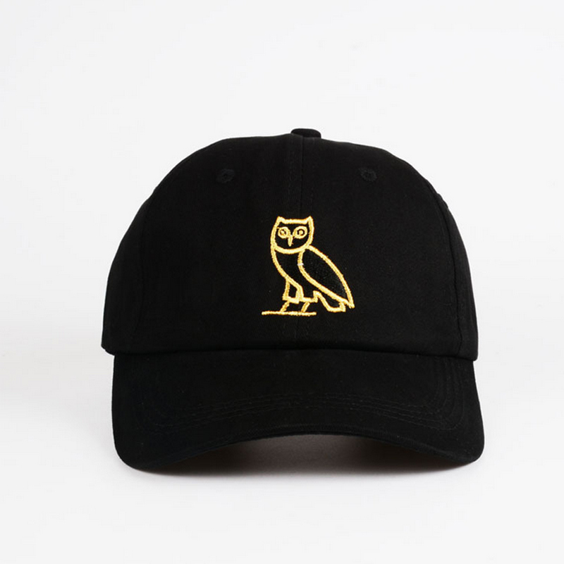 New Fashion Unisex Women Men Cotton Caps Casual Owl Embroidery Solid Adult Cap Hat Visors Hats LB