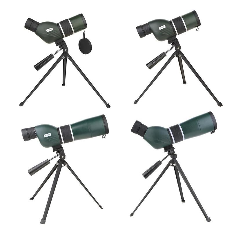 Zoom Spotting Scope with Tripod Long Range Target Shooting Bird Watching Monocular Telescope HD Optical Glass universal 8x zoom optical lens adjustable telescope with tripod for samusng iphone sony