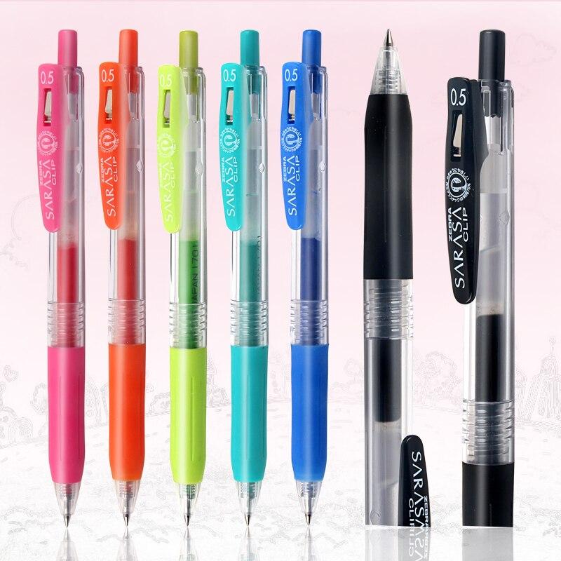 1pcs Zebra SARASA JJ15 Juice Multi-color Gel Pen Student Drawing Writing Supplies 0.5mm 20 Color