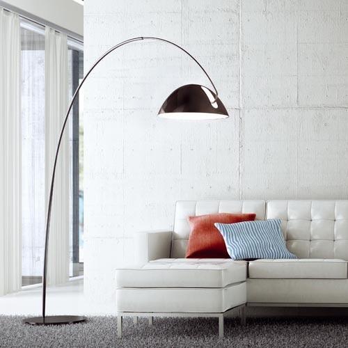 gro en halb kreis bogenlampe boden lampe ikea angeln. Black Bedroom Furniture Sets. Home Design Ideas