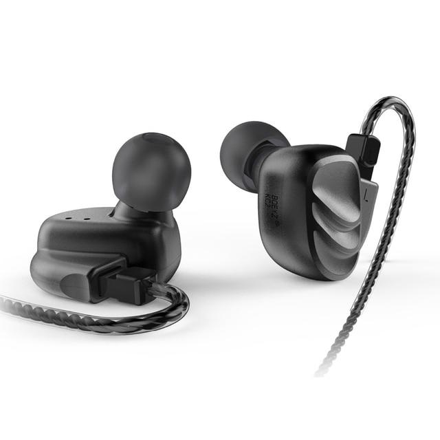 AK BQEYZ KC2 2BA+2DD Hybrid Dynamic In Ear HIFI Earphones Monitor Earbud Bass Running Sport Earphone Earplug Headset Earbud