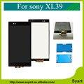 6.44 pulgadas xl39 pantalla lcd completo para sony xperia z ultra xl39h xl39 c6806 c6843 c6833 pantalla táctil digitalizador + adhesivo