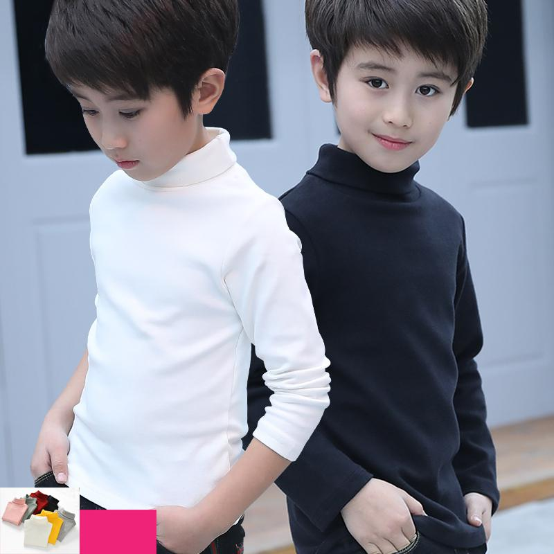 Endand Winter Children Solid Color Sweater Hooded Unisex Kids Clothes Baby Girls Boys Knitted Pullover Sweaters