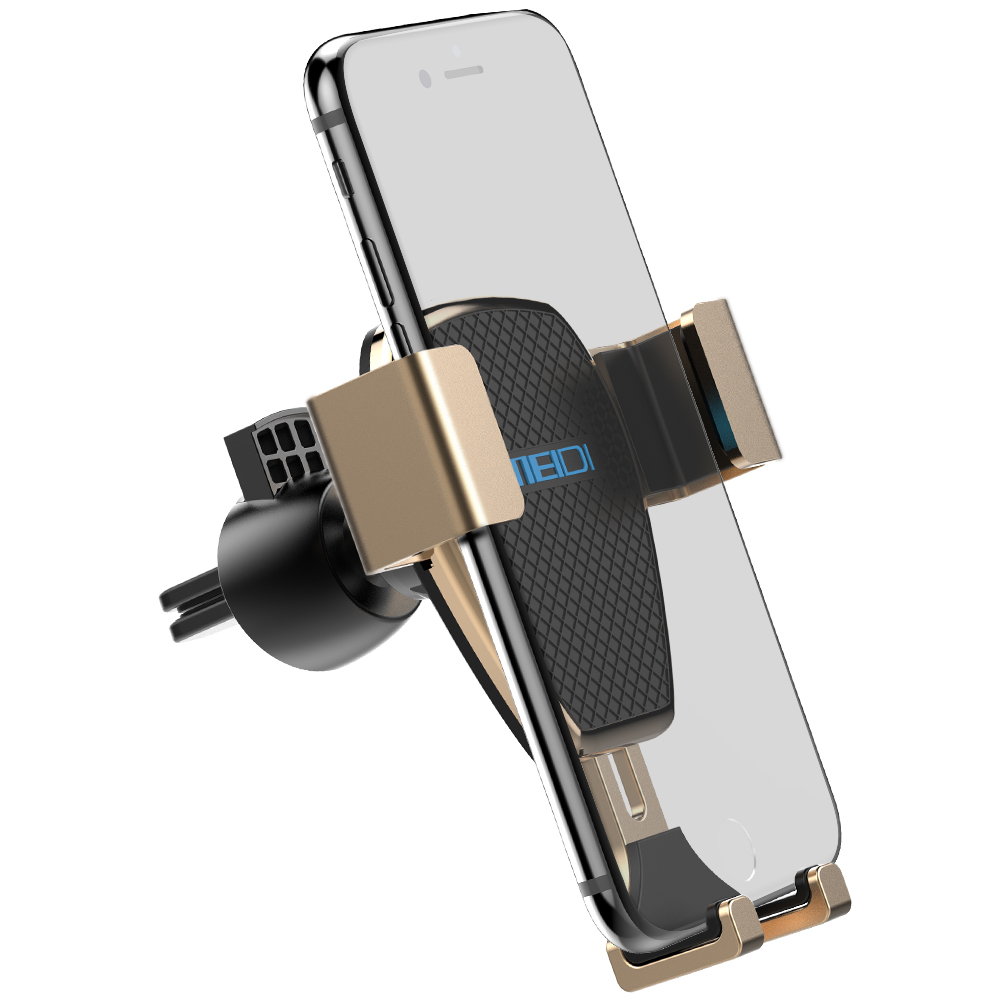 все цены на Phone Holder for Car , MEIDI Gravity One-Handed Operation Universal Air Vent Car Mount for iPhone 7/6s/6 Plus 5s/SamsungS8/ 7