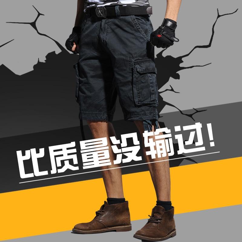 2015 sommer herren armee fracht arbeit lässig bermuda shorts - Herrenbekleidung - Foto 5