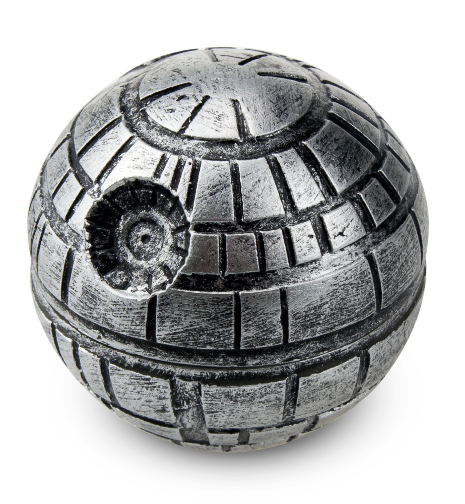 3 Layers Zinc Alloy Star Wars Death Star Grinder   Herb Tobacco Crusher Grinder Cigarettes Accessories Hand Muller hookah