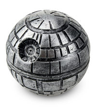 3 Layers Zinc Alloy Star Wars Death Star Grinder Herb Tobacco Crusher Grinder Cigarettes Accessories Hand Muller hookah(China)