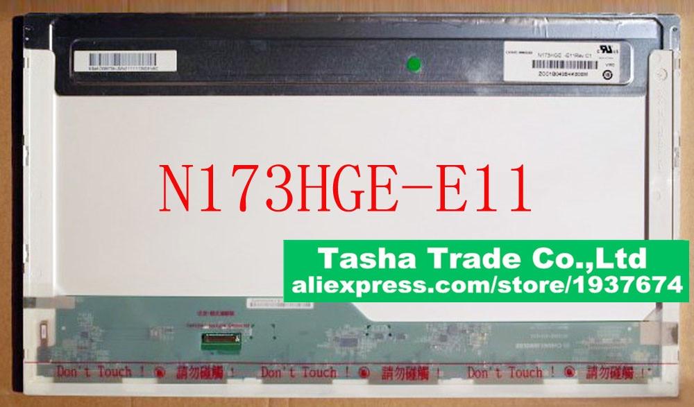 N173HGE-E11 N173HGE E11 FHD LCD Laptop Screen 1920*1080 eDP 30Pins Original New