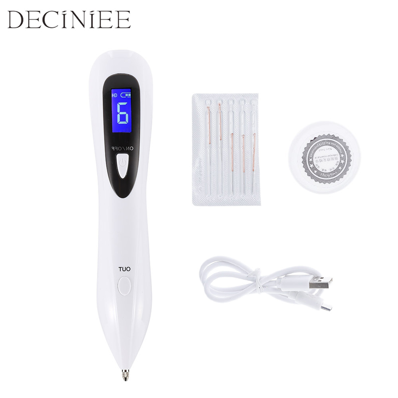 Portable Laser Mole Removal Pen Tool Spot Freckle Removal Pen Wart Skin Tag Removal Machine Skin Care Salon Home Beauty Device warm wedding wedding korean pastoral cute princess girl bedroom flower table lamp european small wedding room bedside eye lamp