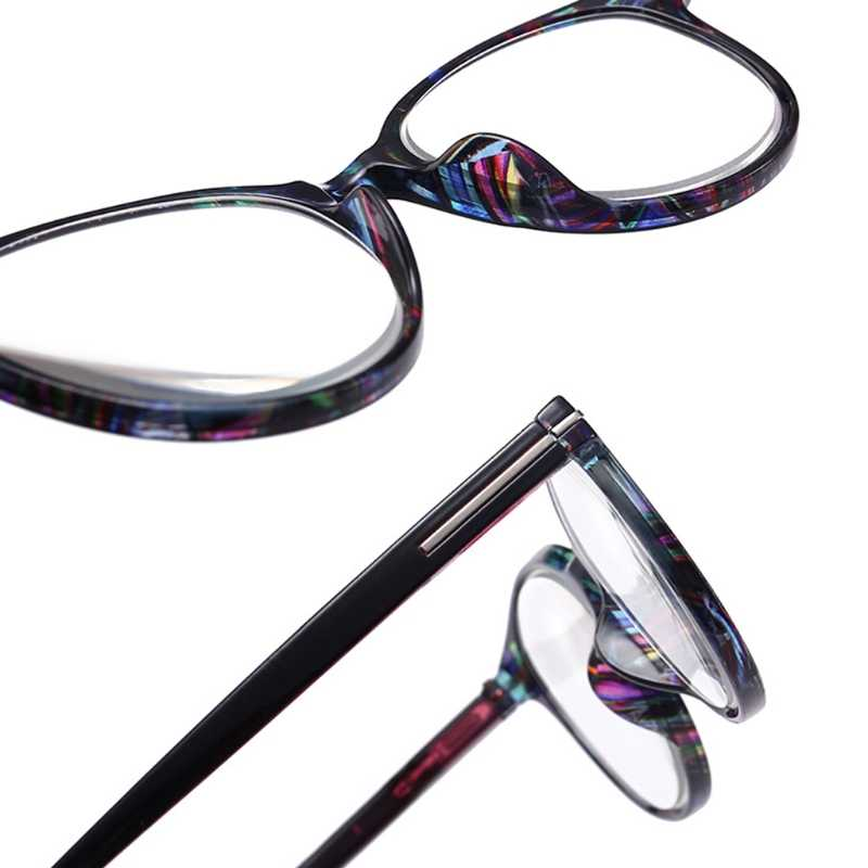 c3505d5a419 ... Fashion Unbreakable Reading Glasses Women Men Resin Glasses Transparent  Spectacles Vintage Round Reading-glasses W715 ...